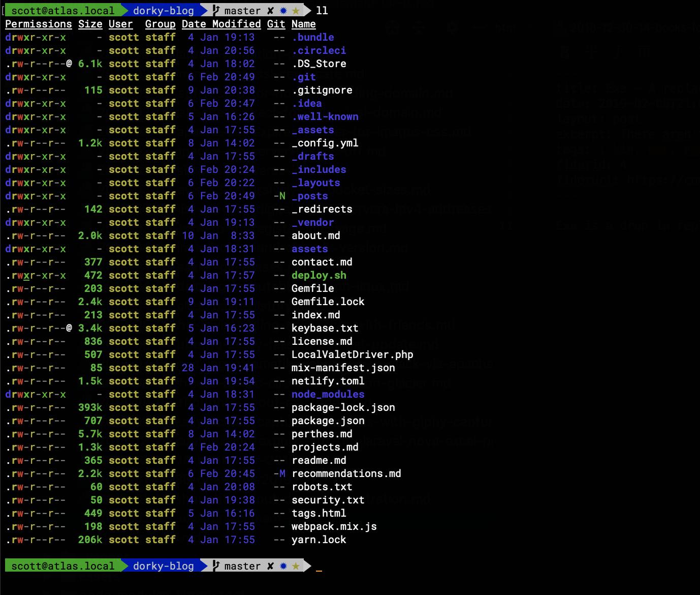 A screenshot of Exa